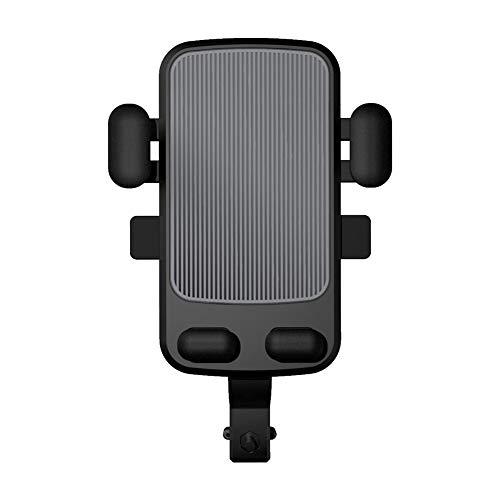 Soporte para Teléfono Celular para Motocicleta,Trpambvia Universal 360° Rotación Impermeable Soporte para Teléfono Celular para Motocicleta Soporte para Bicicleta Al Aire Libre Anti-Vibración,Gris