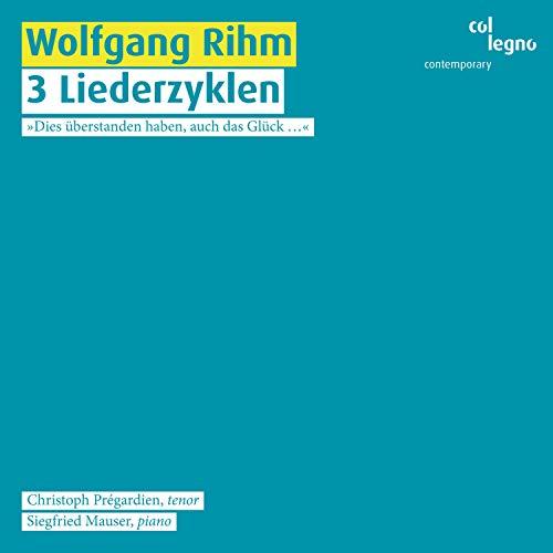 Nebendraußen. Acht Gedichte von Hermann Lenz für Männerstimme und Klavier (1998): November