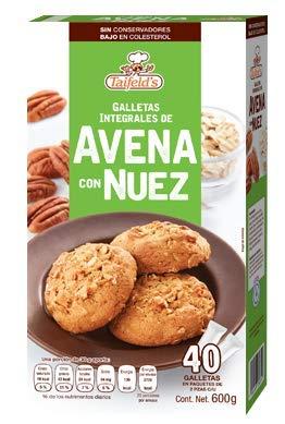 Galletas de Avena con Nuez