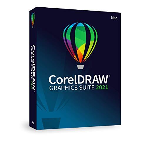 Corel DRAW Graphics Suite 2021 Grafikdesign-Software für Profis | Vektor-Illustration, Layout und Bildbearbeitung | Ewige | [Mac Disc]