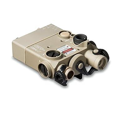 Steiner 9006 DBAL-I2 Dual Beam Aiming Laser Intelligent, Green Laser, Desert Sand