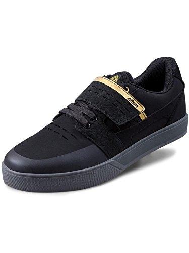 Afton Shoes Vectal Clipless Schuhe Herren Black/Gold Schuhgröße EU 42,5 2019 Rad-Schuhe Radsport-Schuhe