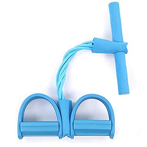 Equipo de yoga crunch pedal extractor vientre cuerda elástica resistencia banda 1pc