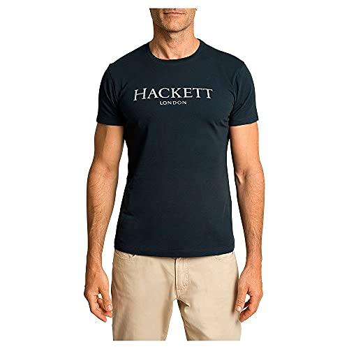 Hackett London Hackett LDN tee Camiseta, 5ezdk Navy, M para Hombre
