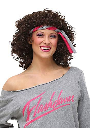 Fun Costumes 80s Flashdance Movie Hair Wig Standard