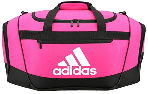adidas Unisex Defender III Small Duffel Bag, Team Shock Pink, Small