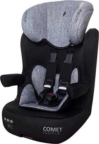 Osann Kindersitz Comet Isofix Gruppe 1/2/3 (9-36 kg) Kinderautositz Grey Melange