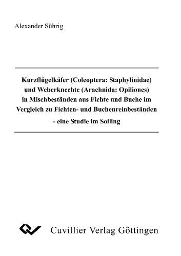 Kurzflügelkäfer (Coleoptera: Staphylinidae) und Weberknechte (Arachnida: Opiliones) in Mischbeständen aus Fichte und Buche im Vergleich zu Fichten- und Buchenreinbeständen: - eine Studie im Solling