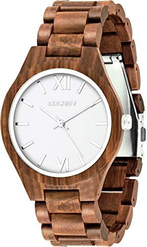 Oliver Redmont Reloj de Madera para Hombres...