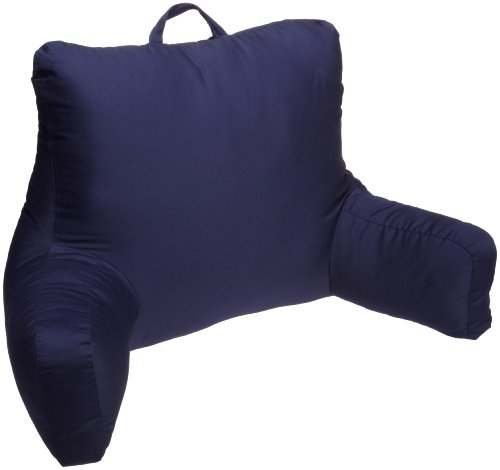 Brentwood Originals Brushed Twill Backrest, 2'2' x 1'6' x 1'6', Navy