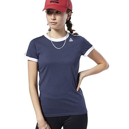 Reebok Linear Logo Tee Shirt voor dames