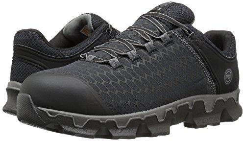 Timberland PRO Men's Powertrain Sport Alloy Toe EH Industrial & Construction Shoe, Black Synthetic, 11 W US