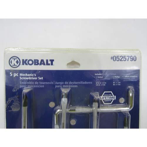 Kobalt 5-Piece Mechanic's Screwdriver Set
