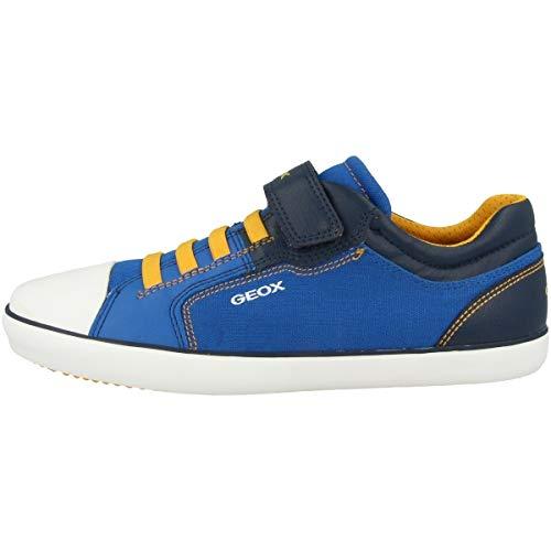 Geox Zapatillas bajas J Gisli B. A, color Azul, talla 32 EU