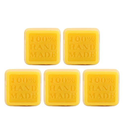 Jacksing Cera de Abejas de Caoba, Pulido de Cera de Abejas, Pulido de Muebles para la impresión de fabricación de Cuero para Pisos(Yellow, Santa Claus)
