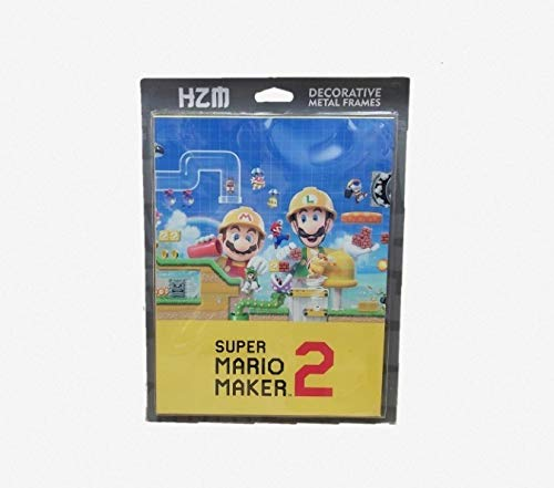 Quadro Decorativo Metal (p) Super Mario Maker 2