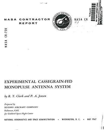 Experimental Cassegrain-fed monopulse antenna system (English Edition)