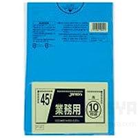 カラーポリ袋(10枚)青 145-807