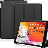 KHOMO iPad 10.2 2019 Hülle (7th Generation) - Dual Hybrid Series Cover - Black