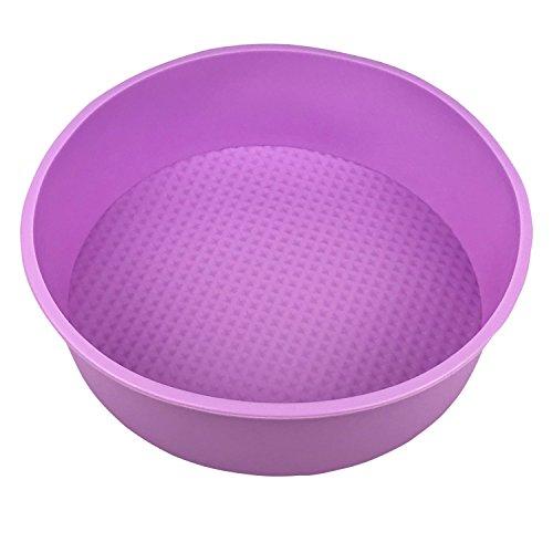 Round Bakeware - Moule à gâteaux antiadhérent en Silicone pour multicuiseur - Ø20cm