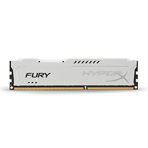 HyperX HX318C10FW/8 Fury Weiß Arbeitsspeicher, DDR3, 8GB, 1866MHz, CL10, DIMM