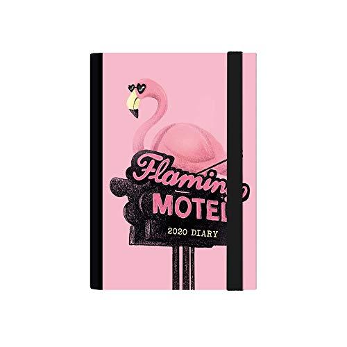 Flamingo Motel - Agenda diaria de 12 meses, tamaño...