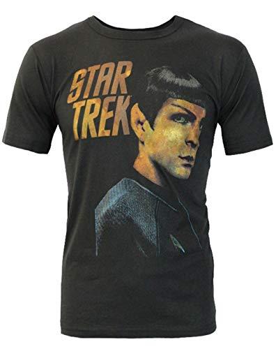 Junk Food Star Trek Spock Portrait Men's T-Shirt