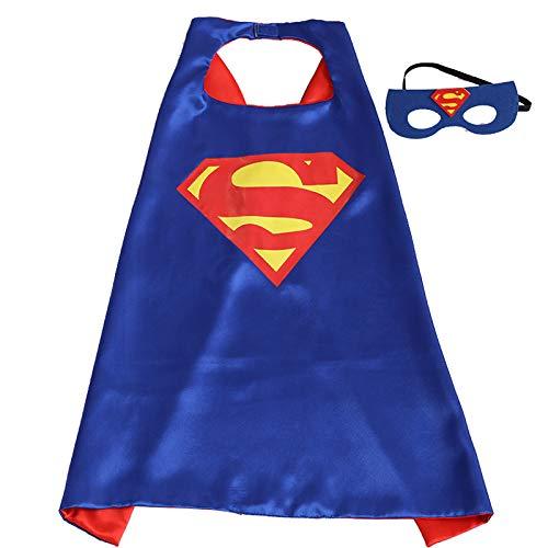 dduuoo Capa de Halloween para niños, Disfraz de Superman Spider ...