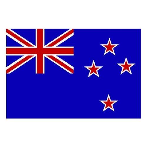 Drapeau de la Nouvelle-Zélande - 90 x 150 - Taille unique