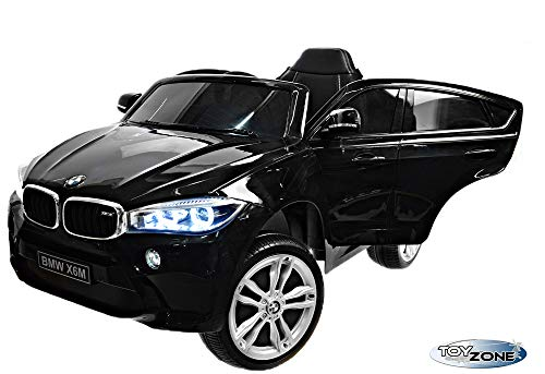 RC Auto kaufen Kinderauto Bild 4: ToyZone Kinderfahrzeug BMW X6M 12V Kinder Elektro Auto Kinderauto MP3 USB Ledersitz Eva*
