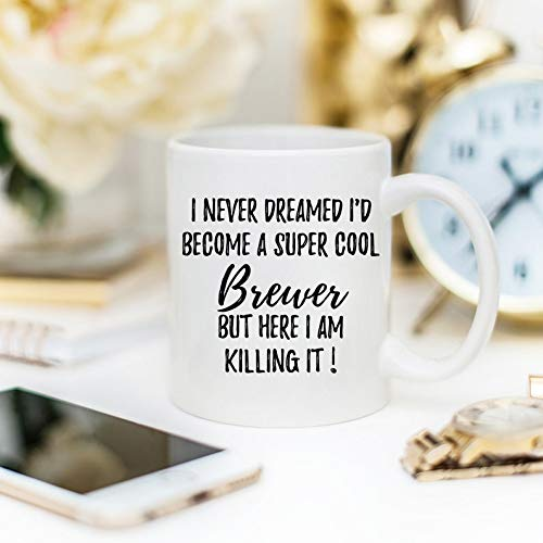 Brewer Mug, Brewer Gift, Gift For Brewer, Personalized Brewer, Funny Brewer, Beer Geek, Beer Brewer Gift, Beer Brewer Mug, Beer Lover