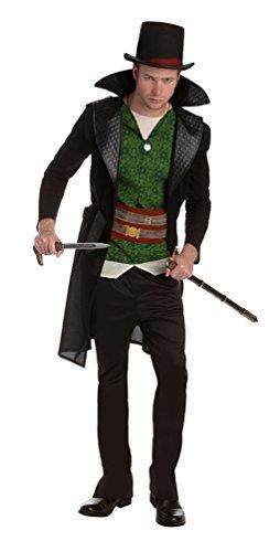 Karneval-Klamotten Assassins Creed Kostüm Jacob Frye Herren Erwachsene Karneval Herrenkostüm Einheitsgröße