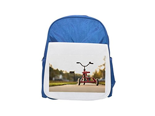 Triciclo, Red, Childhood, Toy, Fun, Ride Printed Kid 's blue Backpack, cute Backpacks, cute small Backpacks, cute Black Backpack, Cool Black Backpack, Fashion Backpacks, Large Fashion Backpacks, Black