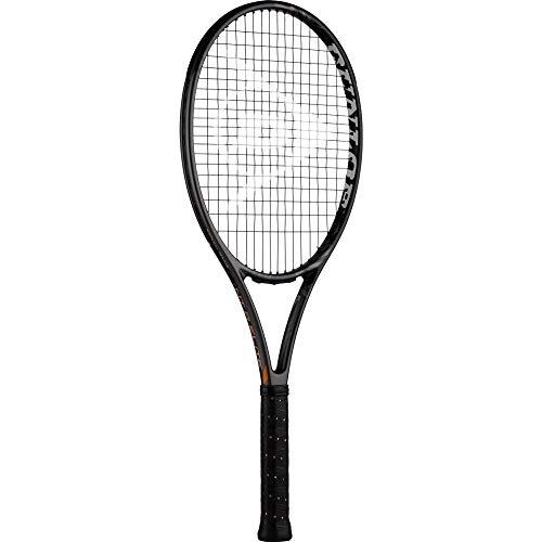 Dunlop Unisex-Adult 677475 Tennisracket NT Elite Power, Grau/Schwarz, Gripsize: 2