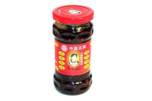 Black Bean Sauce Black Bean in Chili Oil Sauce  988oz Pack of 3