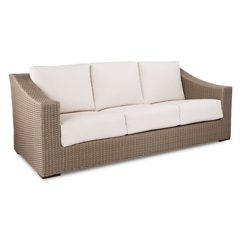 Smith & Hawken Premium Edgewood Wicker Patio Sofa