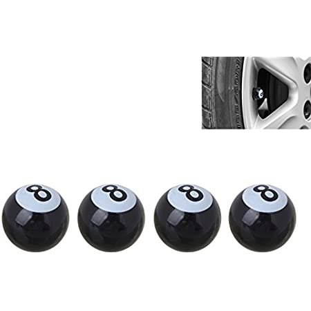SmartProtectors /Auto//Schrader//Aluminium Valve Caps also suitable for Motorcycle /& Bike Set of 4/Anodised Aluminium Valve Caps Car Valve//AV/