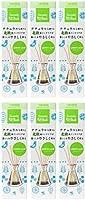 【まとめ買い】サワデー香るスティック 消臭芳香剤 北欧風デザイン ナチュラルなレモンリーフの香り 詰め替え用 70ml×6個