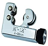 """MASTERCOOL (70029 Silver Tube Cutter for 3/8"""" to 1-1/8"""" O.D. Tubing"""