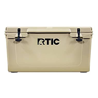 RTIC Cooler, 65 qt (Tan)