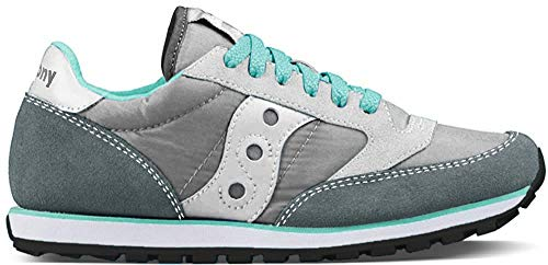 Saucony Originals Women's Jazz Low Pro Sneaker,Grey/White,10 M US