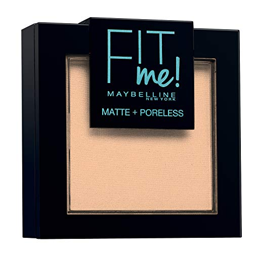 Maybelline New-York - Poudre Compacte Fit Me Matte & Poreless - Peaux normales à grasses - 115 Ivoire - 9 g