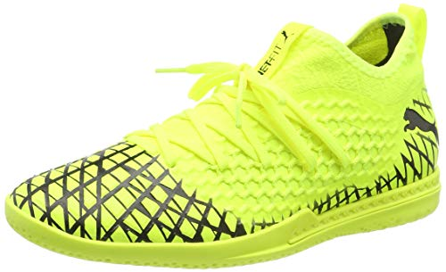 Puma Herren Future 4.3 Netfit IT Futsalschuhe, Gelb (Yellow Alert-Puma Black), 40 EU