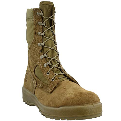 Belleville Men's USMC Hot Weather Combat Mojave Leather Boots 10.0R