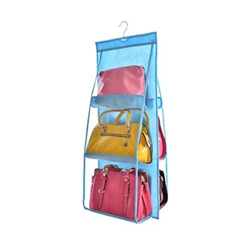 CCMOO 5 stuks hangende handtas organizer voor tas verzamelen kledingkast stofdicht opbergtas deur wand diverse schoenenzakken met haken