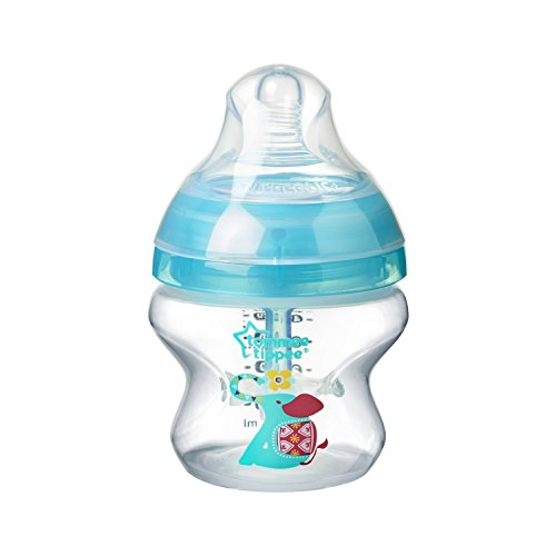 Tommee Tippee 42257475 - Biberón anticólico, decorado, 150 ml