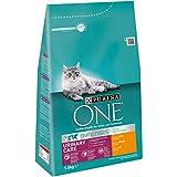 Purina ONE BIFENSIS Urinary Care Katzentrockenfutter: reich an Huhn & Weizen, für gesunde Harnwege, Nieren, Haut, schönes Fell, 6er Pack (6 x...