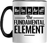 Reinhardt The Fundamental Element Periodic Table Chemical Symbol 11 OZ Mug