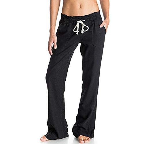 Vertvie dames broek hoge taille vrijetijdsbroek joggingbroek katoen lang sweatbroek sportbroek trainingsbroek hardlopen fitness capris pants