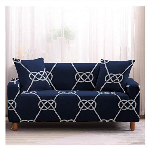 empty Stretch-bankstels van polyester, gebruikelijke beschermhoes voor de sofa-slip, creatieve drukknoop